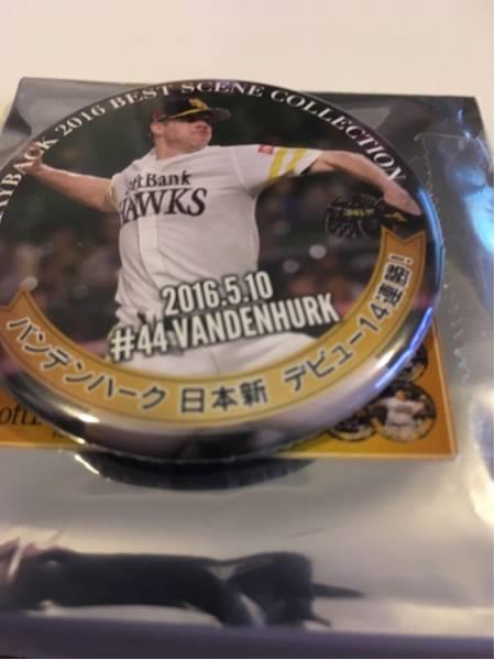 プレイバック2016 ホークス缶バッジ バンデンバーク44 グッズの画像