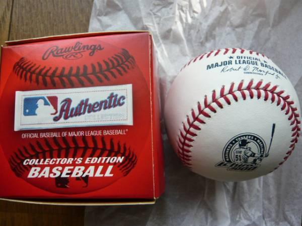 イチロー 3000本安打 記念ボール MLB公式球 限定品 マーリンズM グッズの画像