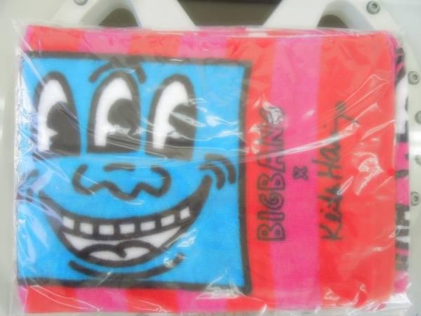 【BIGBANG】 キースヘリングコラボ マフラータオル 《未使用》 ☆美品☆