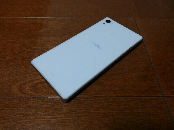 売り切り!!美中古品 SO-03F Xperia Z2 ホワイト_画像2