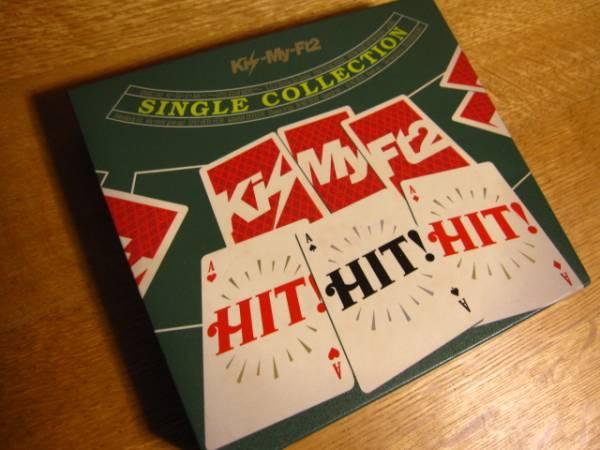 切手可 Kis-My-Ft2 SINGLE COLLECTION HIT! HIT! HIT! CD DVD