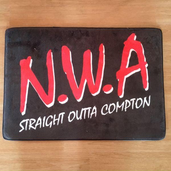 NWA ロゴ フロアマット COMPTON dope HOPHOP