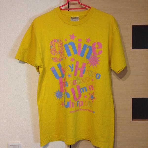 9nine 2011 激レア Tシャツ M 未着用 ライブグッズの画像