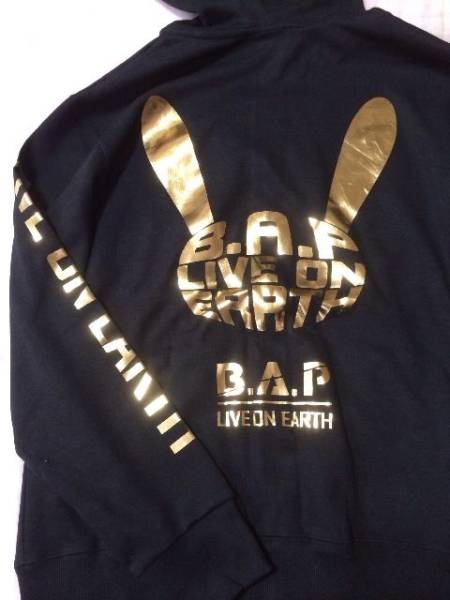 B.A.P LOE SEOUL WANTED 公式グッズ パーカー Foodie