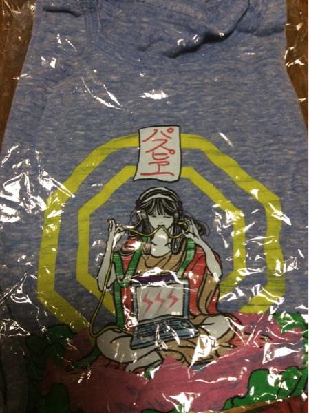 パスピエ 2015 武道館Tシャツ 限定色