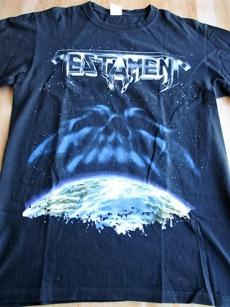 中古 TESTAMENT Tシャツ The New Order 黒M / metallica exodus