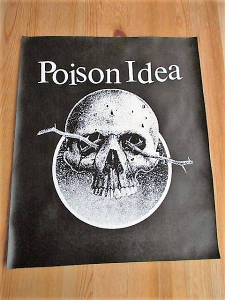 POISON IDEA プリントバックパッチ ワッペン / bad brains d.r.i