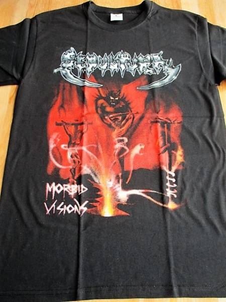 SEPULTURA Tシャツ morbid visions 黒M / slayer sodom