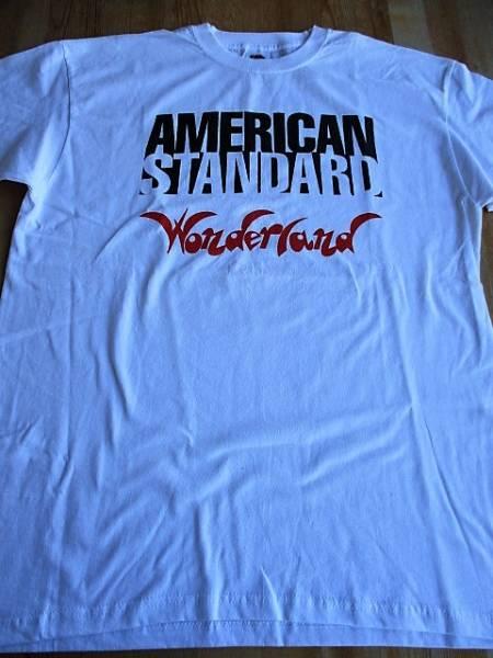 AMERICAN STANDARD Tシャツ wonderland 白M / dag nasty swiz