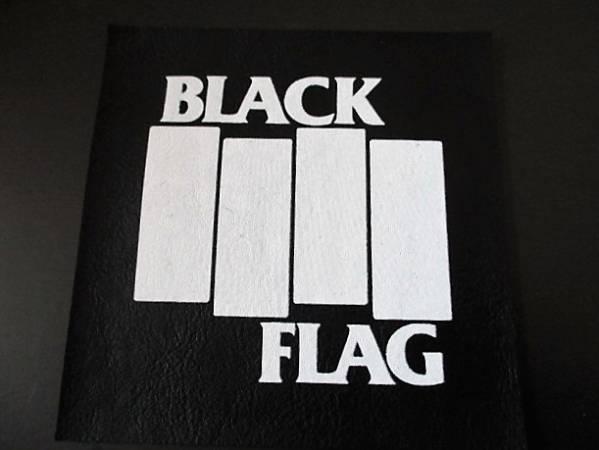 BLACK FLAG プリントパッチ ワッペン / bad brains necros ssd