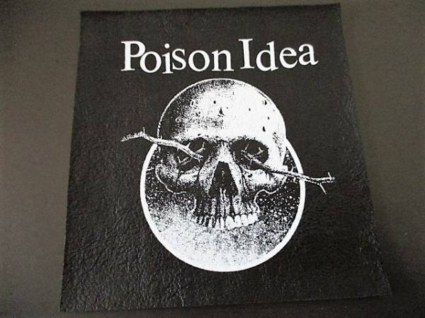 POISON IDEA プリントパッチ ワッペン / bad brains germs d.r.i