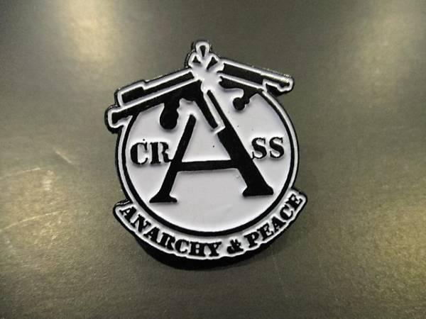 CRASS ピンバッジ / conflict anarcho discharge crust amebix