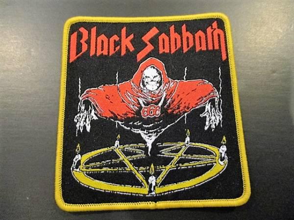 BLACK SABBATH 刺繍パッチ ワッペン 666 黄枠 / iron maiden