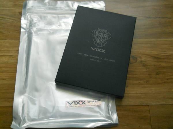 韓国 VIXX 20114公式ダイアリー ライブグッズの画像