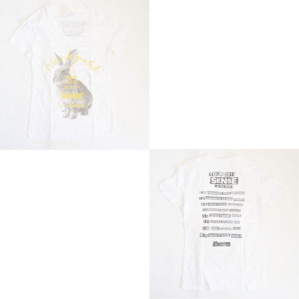 Mr.Children SENSE ウサギ Vネック Tシャツ ミスチルグッズ