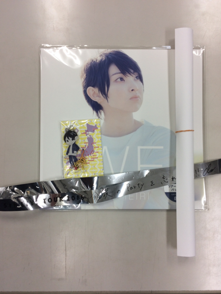家入レオ 岡山限定キーホルダー&CD&ポスター ライブグッズの画像
