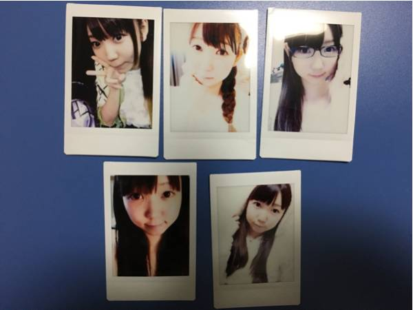 i☆Ris 山北早紀 チェキ (5枚セット)