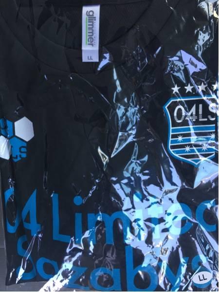 04 Limited Sazabys ★ゲームTシャツ★ 黒LL 新品未開封 XL