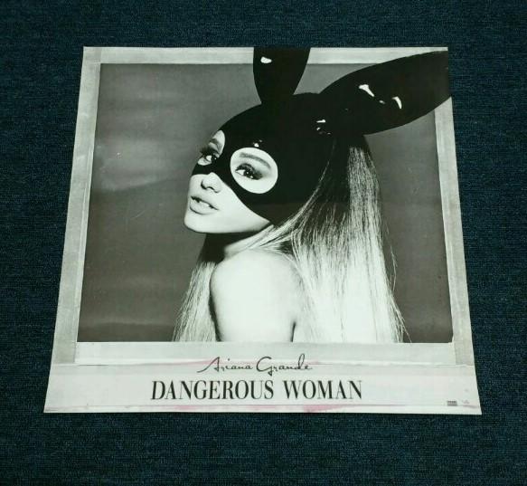 アリアナ・グランデ【Dangerous Womanポスター】★3日以内到着