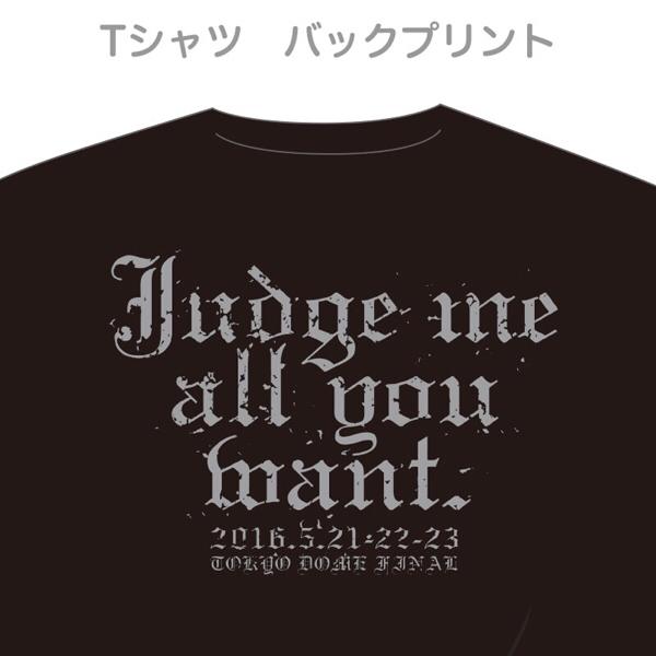 完売品!新品 氷室京介 LAST GIGS 東京限定メッセージTシャツ M ライブグッズの画像
