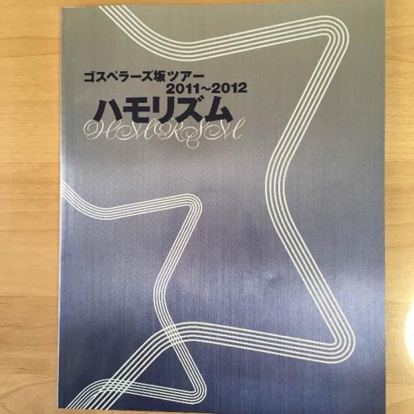 ゴスペラーズ ツアー パンフレット 2011 【美品】