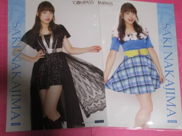 【中島早貴】℃-ute 2016/℃OMPASS/ピンナップポスターPart2/2種 ライブグッズの画像