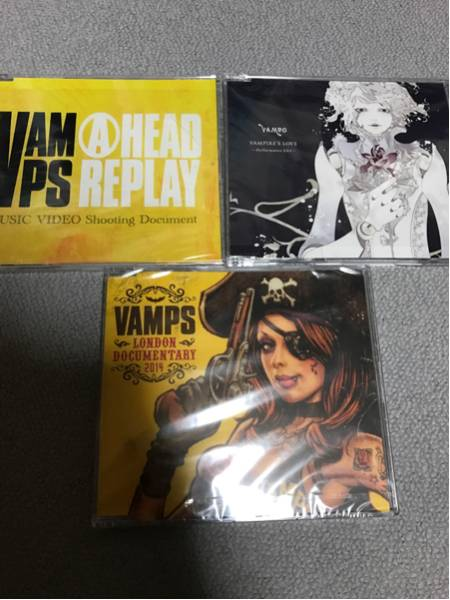 VAMPS 非売品 DVD ドキュメンタリー 特典 3枚セット