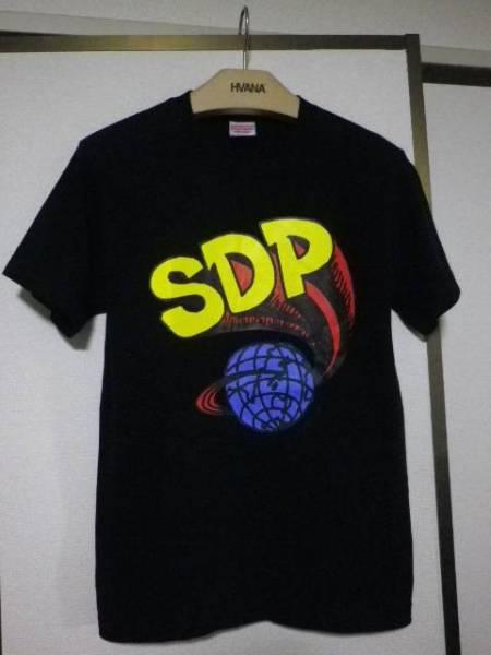 美品 ほぼ未使用 スチャダラパー SDP 幻のロゴ Tシャツ S 黒