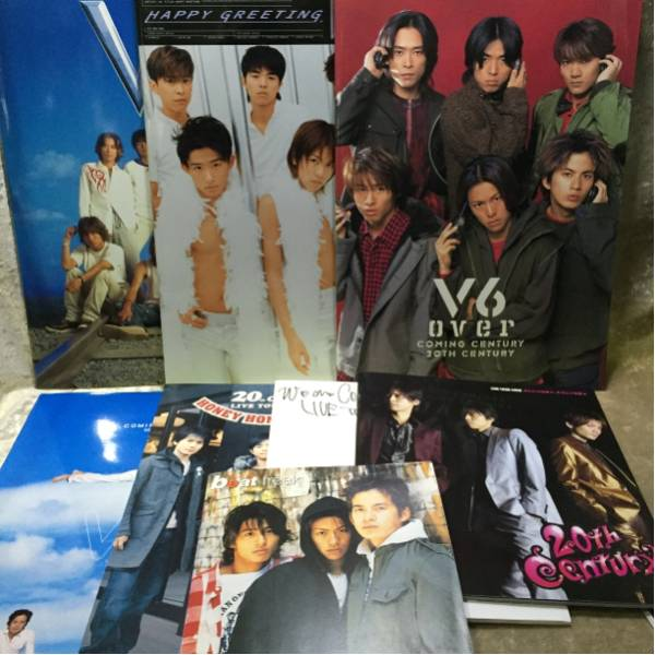 V6/ジャニーズ/グッズ/パンフ コンサートグッズの画像