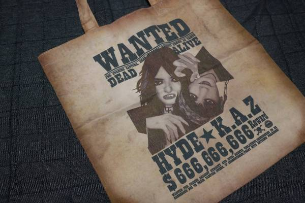 VAMPS LIVE 2013 トートバッグ WANTED HYDE