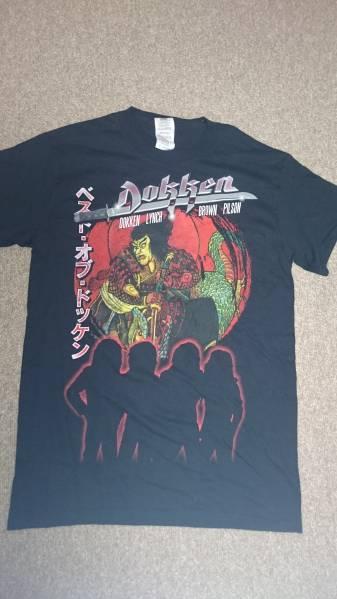 Dokken再結成日本ツアー会場限定販売Tシャツ黒S新品未使用!
