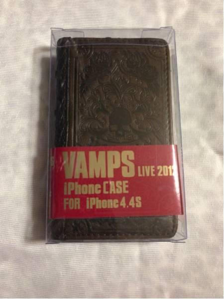 新品 VAMPS LIVE 2012グッズ iPhoneケースiPhone4/4S HYDEラルク
