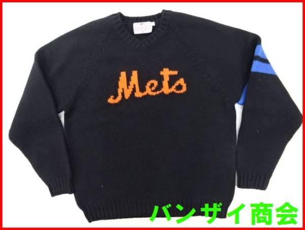 SSK社◆ニューヨークメッツMets ウールニットセーター L/MLB グッズの画像