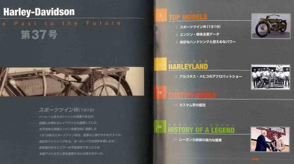 【b8958】週刊ハーレーダビッドソン37 - W Sport Twin [DeAGO..._画像2