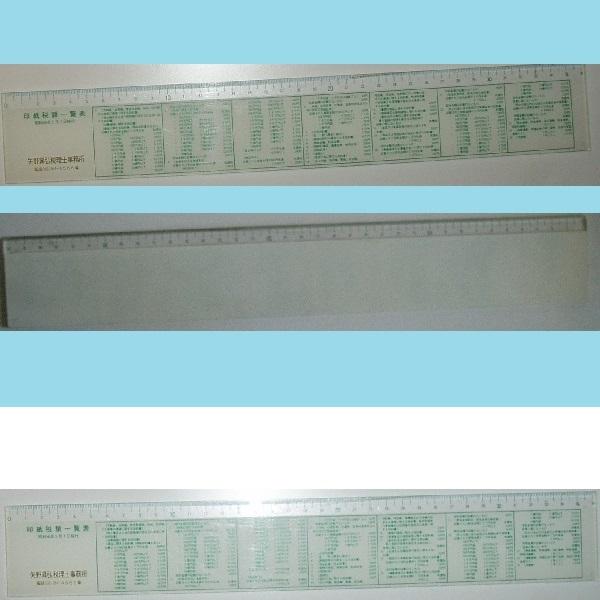 表 印紙 税額