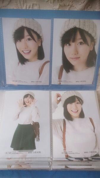 HKT48 月別生写真 4種コンプ 2016年11月 November 小田彩加