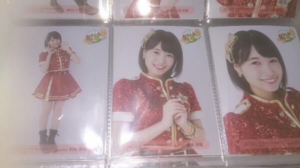 HKT48 5周年記念会場生写真 3種コンプ 朝長美桜 ライブグッズの画像