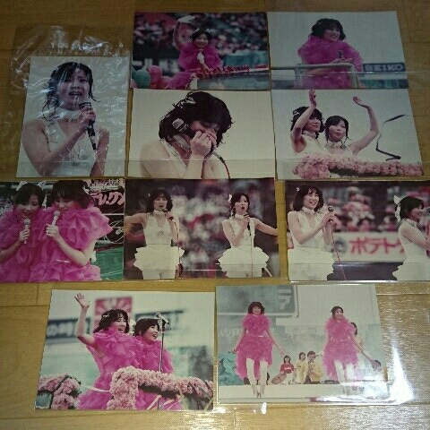 ピンクレディー☆さよならコンサート☆生写真10枚セット☆未唯mie☆増田恵子☆