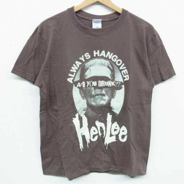 HENLEE ヘンリー Tシャツ ALWAYS HANGOVER M DANCE PIT MOTHER