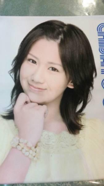 岡井千聖 ℃-ute マイクロファイバータオル 中古美品 2009春 ライブグッズの画像