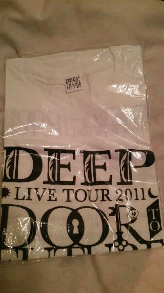 DEEP ツアーTシャツ LIVE TOUR 2011 DOOR TO FUTUER Mサイズ