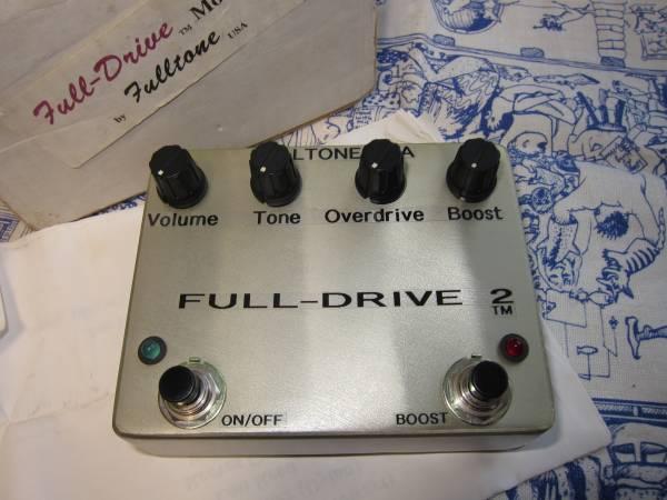 FULL TONE FULL DRIVE 2 1996年箱など