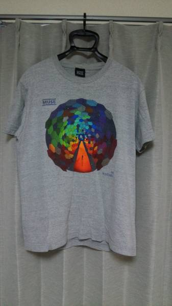 MUSE/THE RESISTANCE Tシャツ グレイ Mサイズ