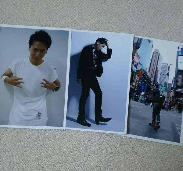 三代目J Soul Brothers 山下健二郎 CD購入特典 フォトシート