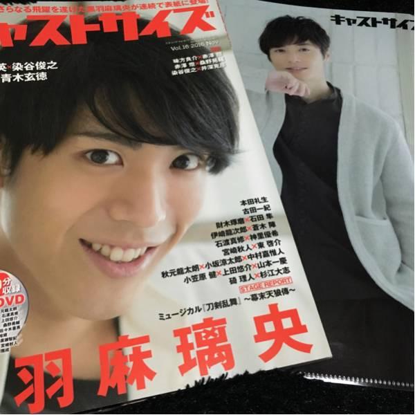 キャストサイズ vol.16 黒羽麻璃央 和田琢磨 クリアファイル付