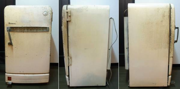 Mitsubishi antique refrigerator available Retro Vintage Vintage Showa Lea