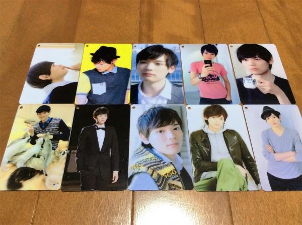 古川雄輝・PVCカード 10枚セット 日本未発売品A グッズの画像