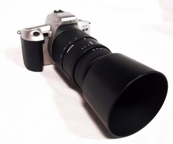 MINOLTA360aiαフィルム式AF70~300シグマズームレンズ1.4~5.6_画像1
