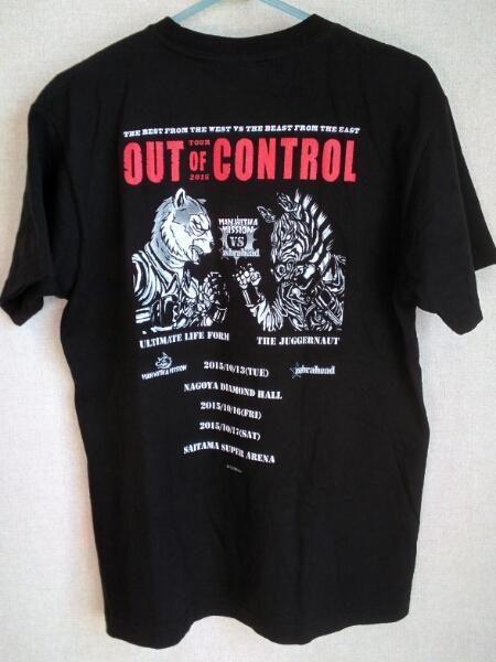 美品 MAN WITH A MISSION Tシャツ★zebrahead out of control