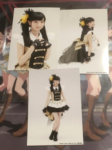 Wake Up Girls 田中美海 みにゃみ ブロマイド 3枚 SUPERLIVE WUG